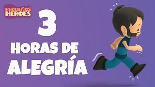 3 HORAS DE DIVERSION CON PEQUEÑOS HEROES 🎤🌟 | Canciones Infantiles