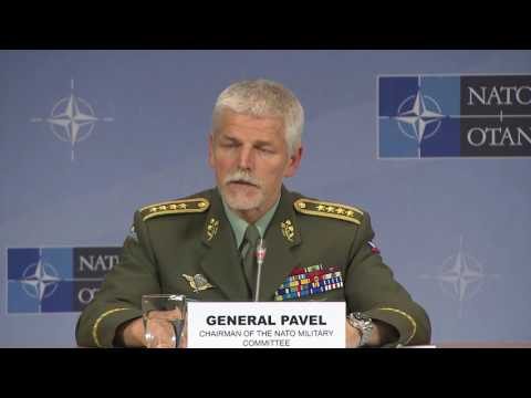 Joint Press Conference - NATO Chiefs of Defence Meeting, 18 MAY 2016, Part 1/2