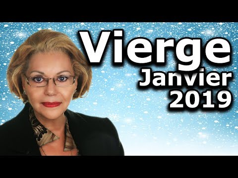 Horoscope Vierge Janvier 2019
