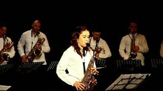 Ukrainian Saxophone Ensemble - R.Zante - Fantasy on a Japanese song