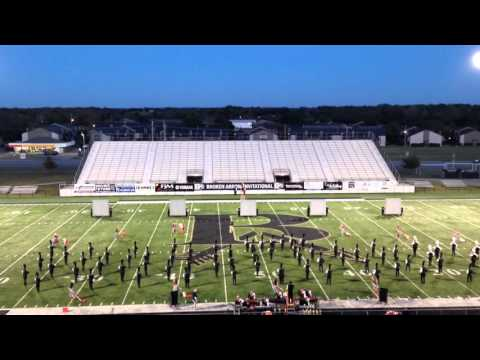 Tahlequah High School Orange Express finals performance @ Broken Arrow Invitational 10-3-15