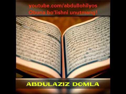Abdulaziz Domla Soliha Ayol