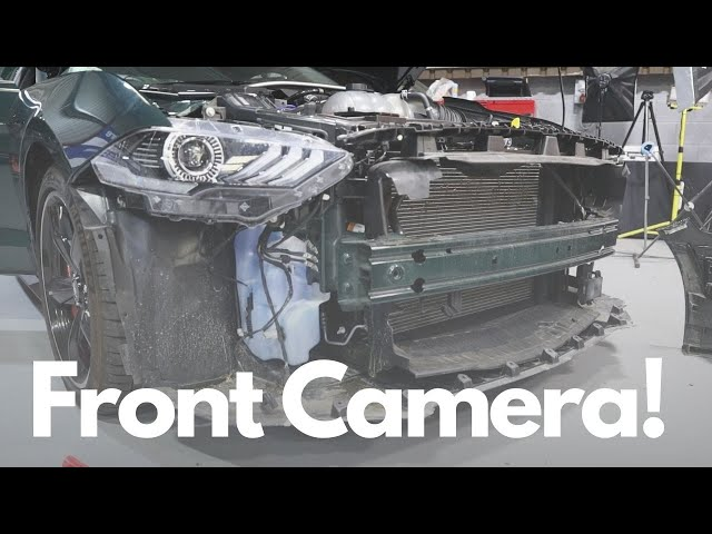 Ford Mustang Bullitt Integrated Front Parking Camera & Dash Cam
