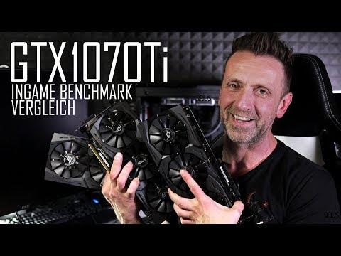 Kann die neue GTX 1070Ti was? Test gegen Asus GTX1080 und Asus GTX1080Ti