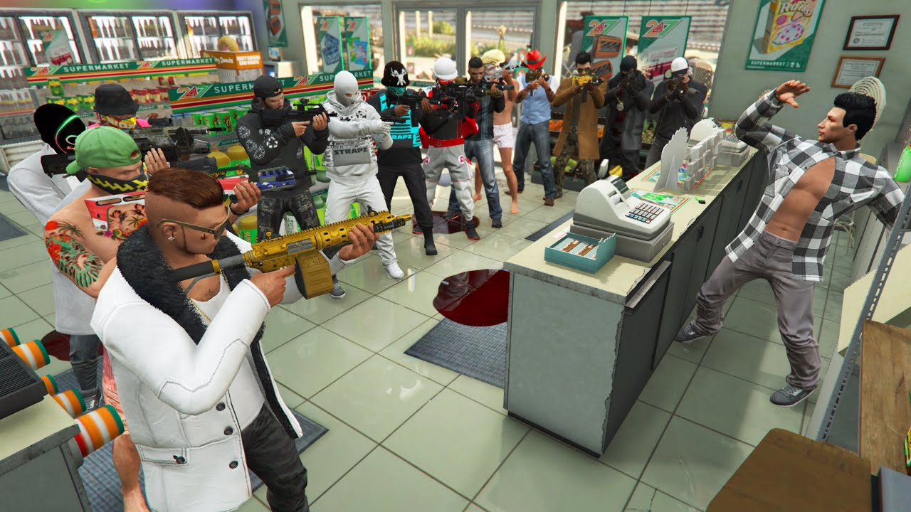 Download BRAQUAGES GTA 5 PS5