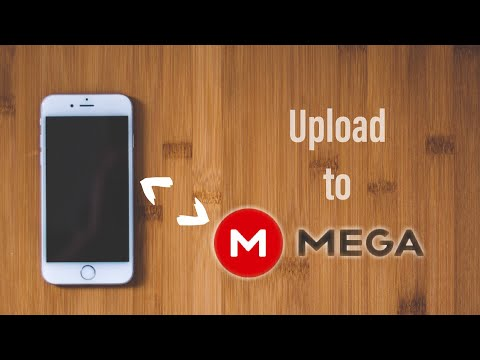 Upload any files from iPhone to MEGA Cloud