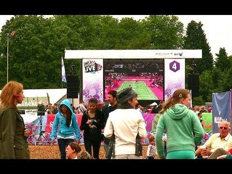 Hyde Park - Watching the London 2012 Olympics at BT London Live - London Landmarks
