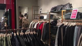 Покупка мужской куртки в магазине Guess. Обзор магазина Guess.