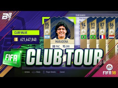 1,000,000 FIFA POINTS CLUB TOUR! (October) | FIFA 18 ULTIMATE TEAM