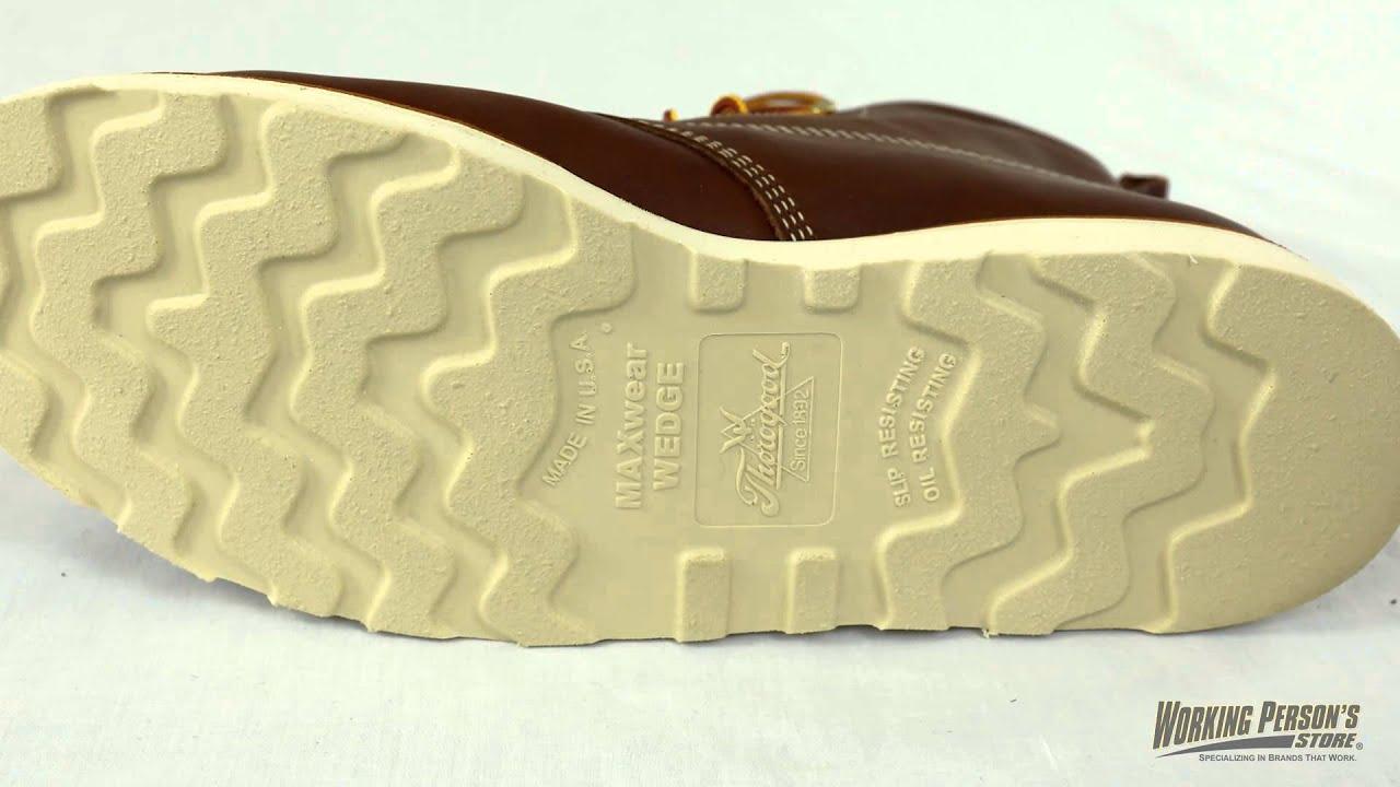 70cc49097e2 Thorogood Boots: Men's Waterproof 814-4008 USA-Made Work Boots ...