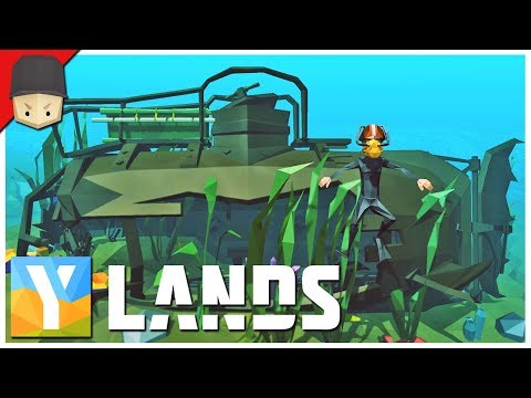 YLANDS - SUBMARINE! : Ep.20 (Survival/Crafting/Exploration/Sandbox Game)