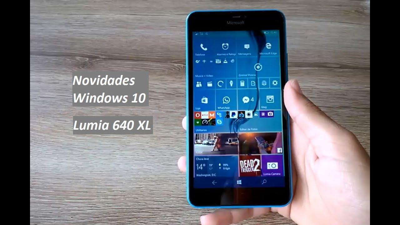Novidades da build 10536 do windows 10 mobile em phablet for Window 640 xl