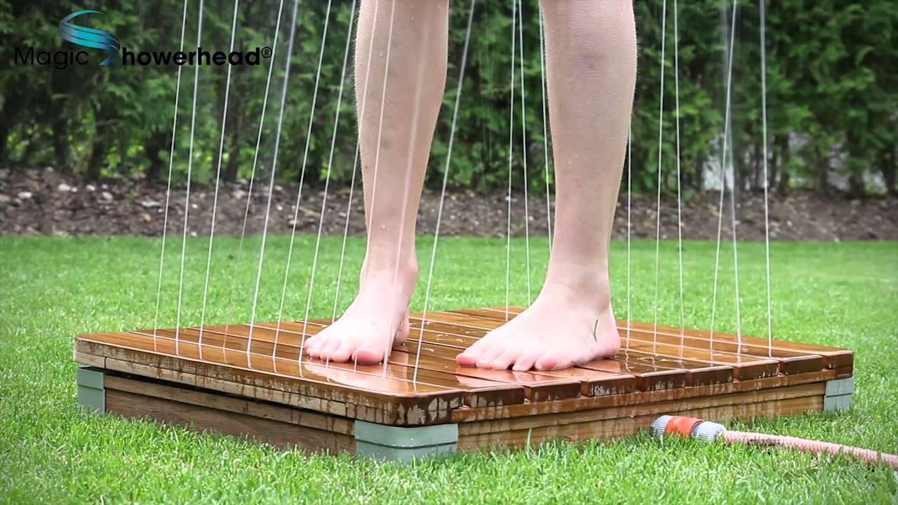 Die Einzigartige Gartendusche Youtube