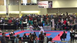Kanzen Mary E.'s  Match for 1st, 2015 USANKF Nationals
