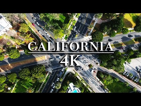 4k California Drone Footage