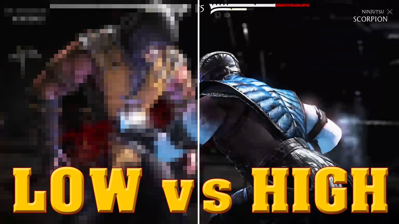 How to make MORTAL KOMBAT X run smoothly in low-end ...