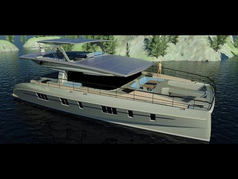 Solarwave 62 zero emission luxury yacht nears completion