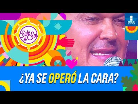 ¡Pedro Fernández confiesa si se  ha operado la cara!   Sale el Sol