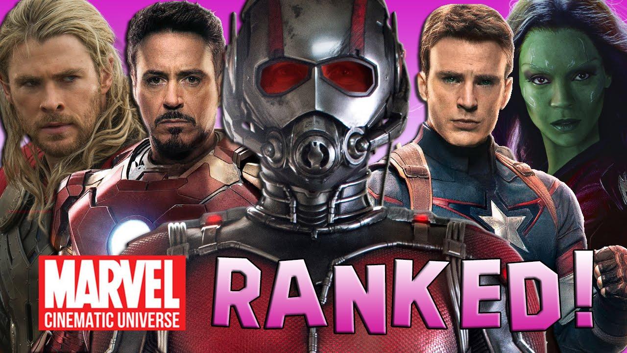 marvel film rankings