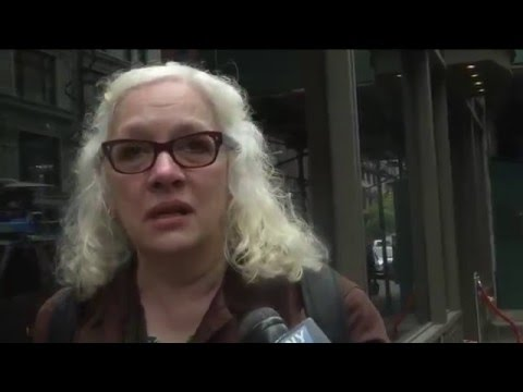New Yorkers React to Fire that Destroyed Serbian Orthodox Cathedral of Saint Sava
