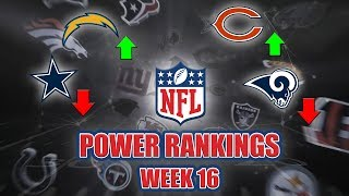 NFL Week 16 Power Rankings | Elite QBs Struggle & Will The AFC Go Through A Soccer Stadium?