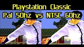 Pal on PlayStation Classic vs NTSC on Playstation