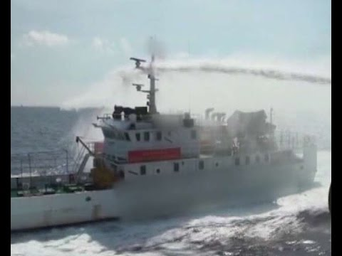 China coast guard vessel in South China Sea