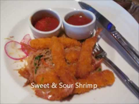 Carnival Cruise Food - Main Dining Room Dinner
