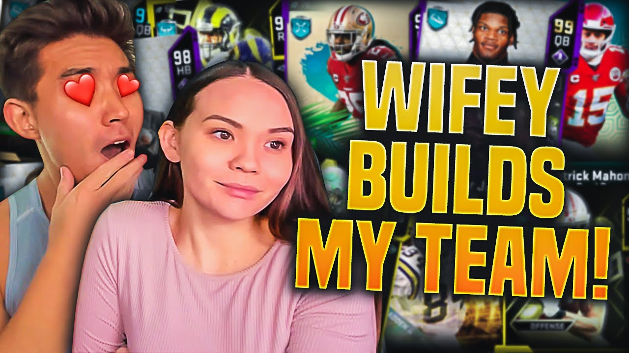 My Wifey Builds My Madden Team Madden 20 Ultimate Team Youtube Hide content and notifications from this user. youtube