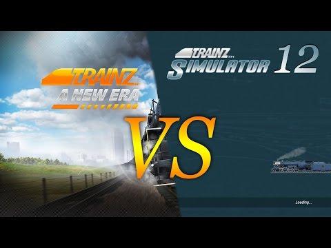 Tranz Simulator 12 Vs.Trainz  A New Era