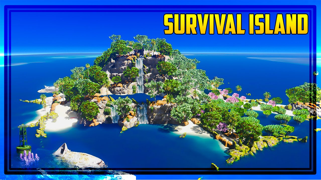 GTA 5 SURVIVAL ISLAND MAP! (Zombies, Crashed Yachts & More) - YouTube