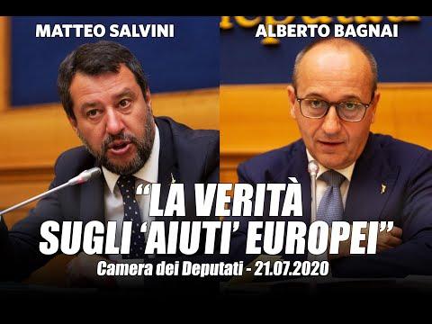 'LA VERITÀ SUGLI 'AIUTI' EUROPEI' - MATTEO SALVINI E ALBERTO BAGNAI (21.07.2020)