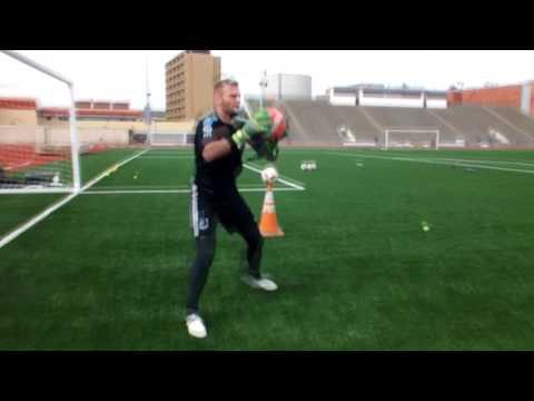 Goalkeeper Training - Patrick McLain