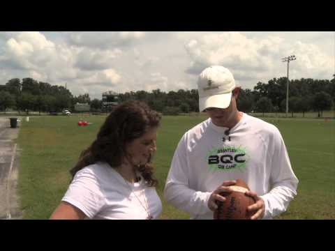 Brantley Quarterback Camp Gives High Schoolers A Chance To Learn Fundamentals