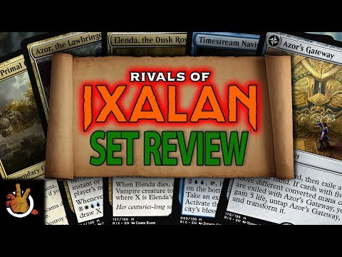 Rivals of Ixalan Set Review | The Command Zone #193 | Magic: the Gathering Commander/EDH Podcast