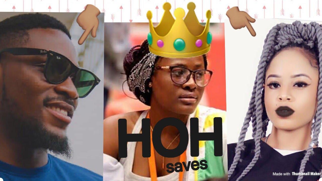 Download BBNAIJA 2018:ALEX WINS HOH + SAVES NINA & TOBI TO THE FINALS