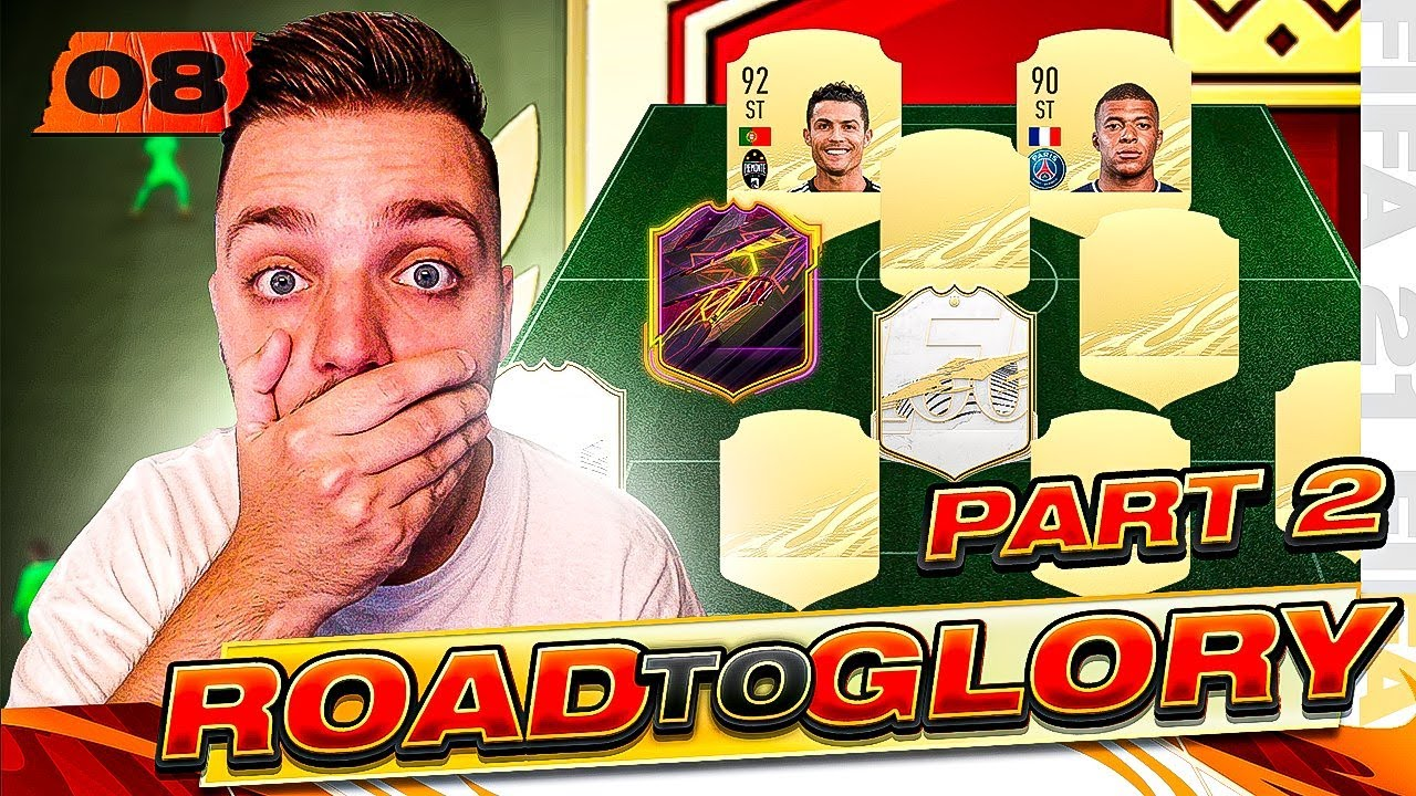 WE PLAYED AN INSANE TEAM IN FUT CHAMPS ON THE ROAD TO GLORY! FIFA 21 ULTIMATE TEAM #8