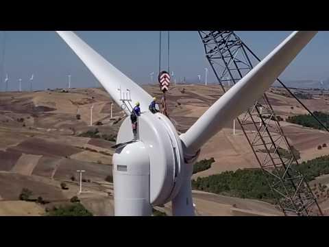EWT DW61 900kW installation in Italy
