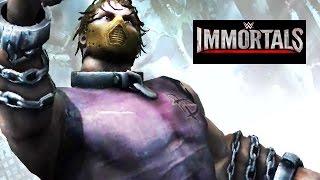 WWE Immortals - DEAN AMBROSE Lunatic Fringe Move Attacks [Android/iPad]