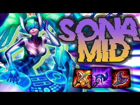 HOW TO ONE SHOT EVERY OPPONENT!! Off Meta Monday - Sona Mid - League of Legends