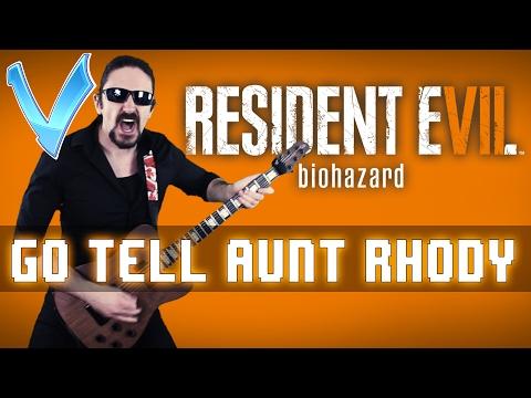 """Resident Evil 7 - Go Tell Aunt Rhody """"Epic Metal"""" Cover (Little V)"""