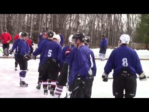Mahoney Pond Hockey  3-6-16