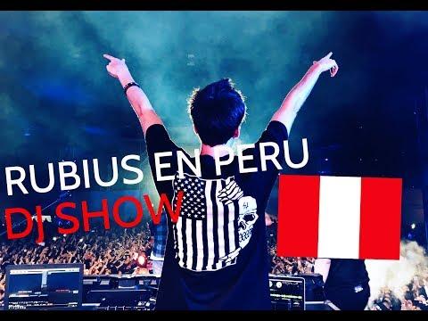 El Rubius primera vez en Peru - DJ Show || Entel Media Fest Peru 2017 || Parte 1