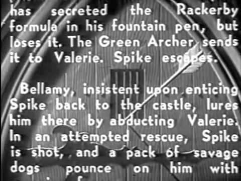 THE GREEN ARCHER   Chp 11 15 1940 Victor Jory