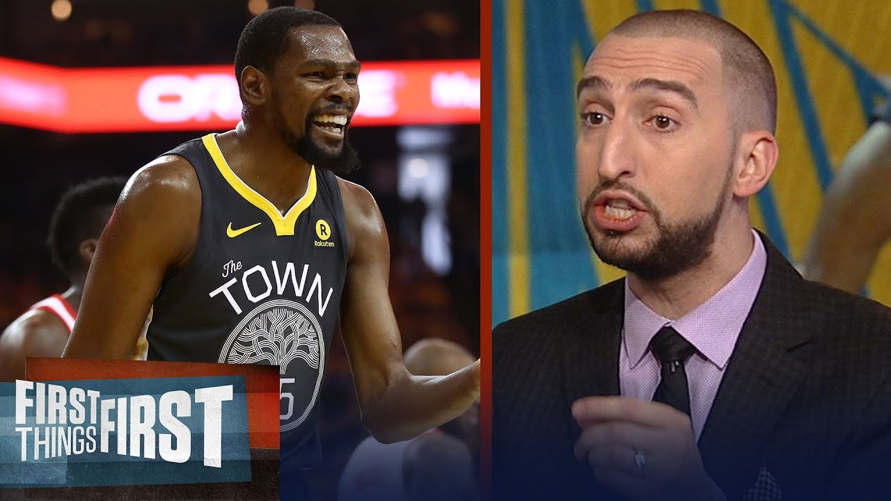 88dc30d4b0b Nick Wright on when Kevin Durant forfeited being the best NBA player ...