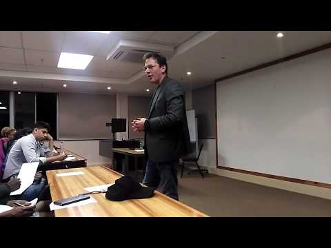Wits Financial Seminar with Simon Brown