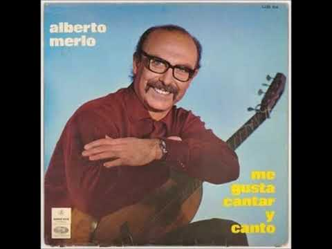 Alberto Merlo - Me gusta cantar y canto  (1971)