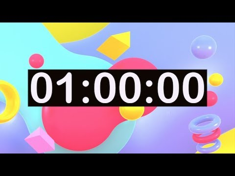 Timer For Kids 1 Hour Countdown Timer With Music For Cl Room Dance Learn Study Play Work To