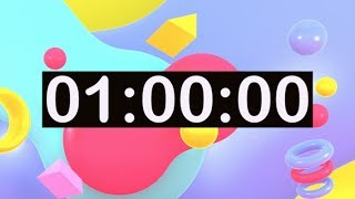 Timer for Kids! 1 Hour Countdown Timer with Music for Classroom, Dance, Learn, Study, Play, Work To!