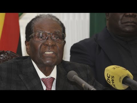 Mugabe's live TV address where he failed to resign